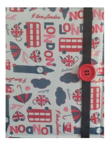 White London Print E-Reader Case - Miss Pretty London UK Limited