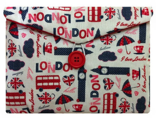 White London Print Tablet Bag - Miss Pretty London UK Limited