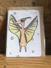 Load image into Gallery viewer, Pterodactyl Greeting Card - Miss Pretty London UK Limited