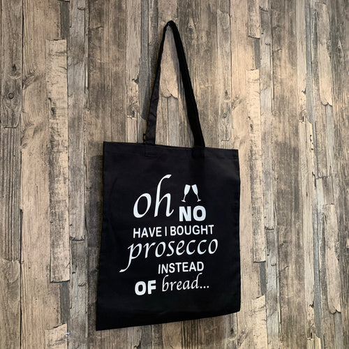 Oh No I Brought Prosecco Print Tote Bag