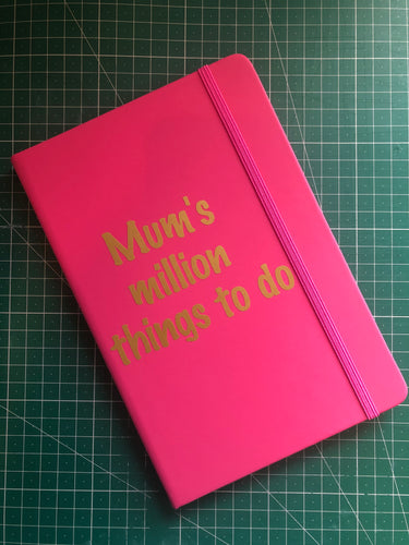 A5 Mum's Notes Notebook - Miss Pretty London UK Limited