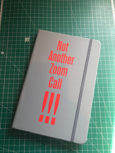 A5 Zoom Meetings Notebook - Miss Pretty London UK Limited