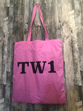 Load image into Gallery viewer, Postcode Place Name Print Tote Bag