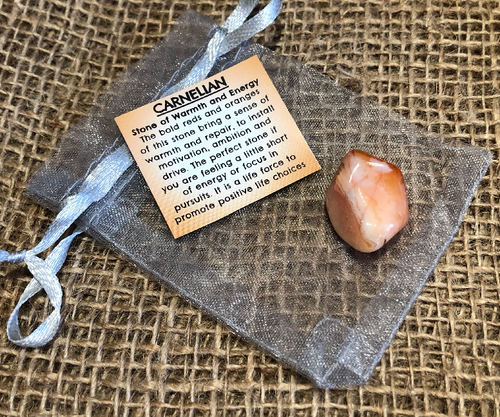 Carnelian - Stone of Warmth and Energy