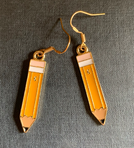 Handmade Crayons Enamel Earrings - E031