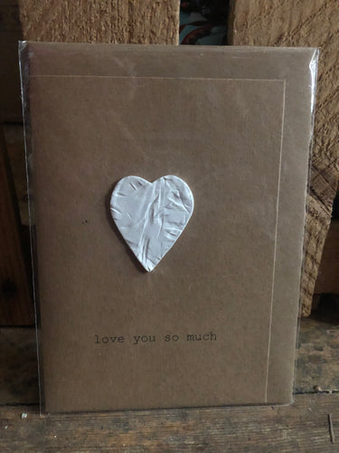 Clay Love You So Much Greeting Card - CLYSM
