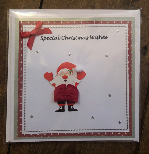 Special Christmas Wishes Santa Christmas Greeting Card - CMC004