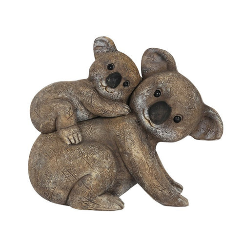 KOALITY TIME WITH YOU KOALA MOTHER AND BABY ORNAMENT - Miss Pretty London UK Limited