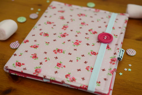 Pink Vintage Rose Print E-Reader Case - Miss Pretty London UK Limited