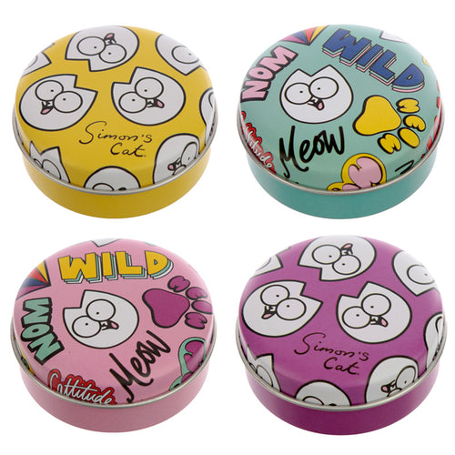 Fun Lip Balm in a Tin - Simon's Cat Pawsome - Miss Pretty London UK Limited