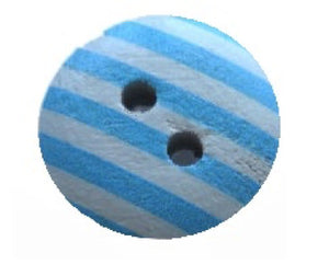 Aqua_Striped_Buttons_-_Pack_of_Five_-_15mm