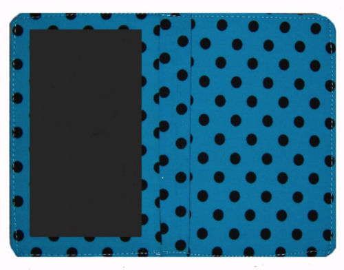 Light_Blue_Polka_Dot_Print_Passport_Wallet