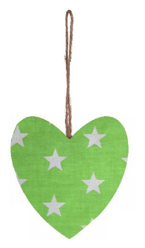 Large_Green_Stars_Print_Plump_Fabric_Hanging_Heart