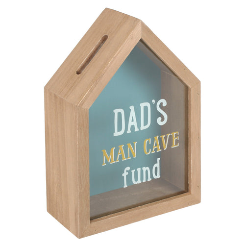 Dad's Man Cave Fund Money Box - Miss Pretty London UK Limited