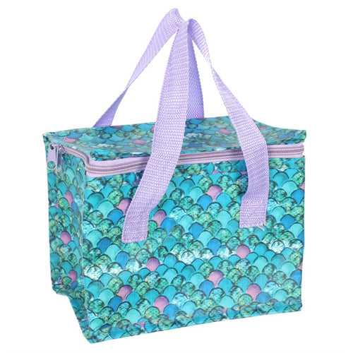 MERMAID SCALE PRINT LUNCH BAG