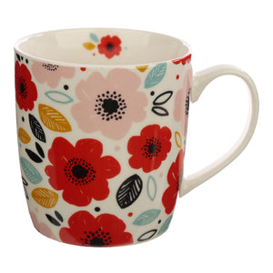 Collectable Porcelain Mug - Poppy Fields