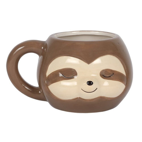 Sloth Face Animal Mug