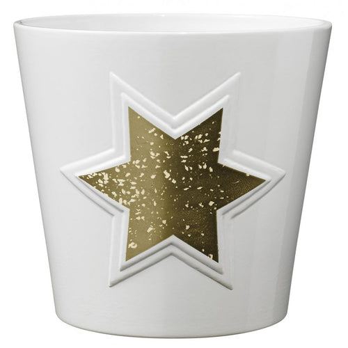 Magic Gold Star Ceramic Pot