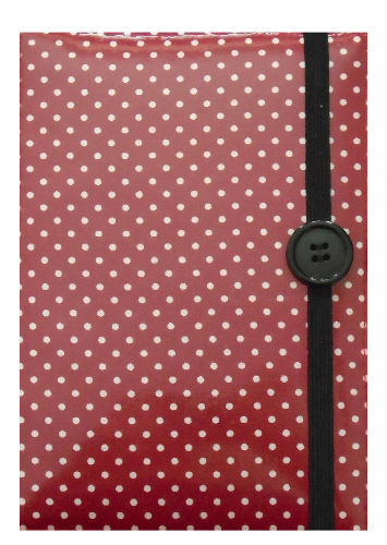 Small Red Polka Dots E-Reader Case - Miss Pretty London UK Limited