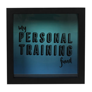 Personal Training Fund Money Box - Miss Pretty London UK Limited