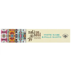 Native Soul White Sage & Palo Santo Incense Sticks