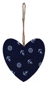 New_Blue_Anchors_Print_Plump_Fabric_Hanging_Heart