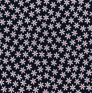 Navy_Daisy_Print_Cotton_Fabric