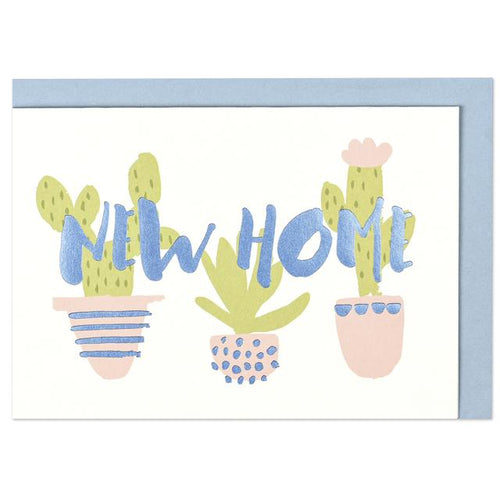 New Home Greeting Card - RBL006 - Miss Pretty London UK Limited