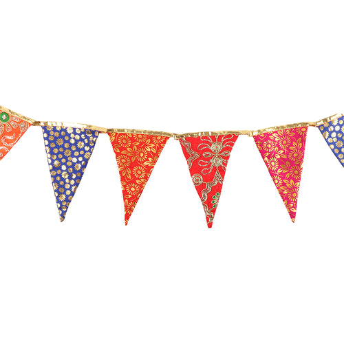 3.2m Colourful Embellished Bunting - Miss Pretty London UK Limited