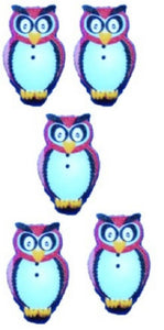 Red_Owl_Buttons_-_Pack_of_5