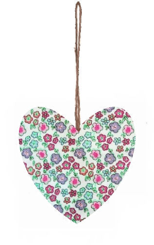 Ditsy_Flowers_Print_Hanging_Heart