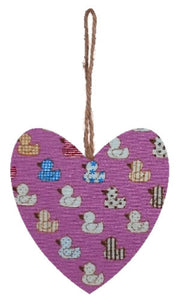 Pink_Ducks_Print_Hanging_Heart