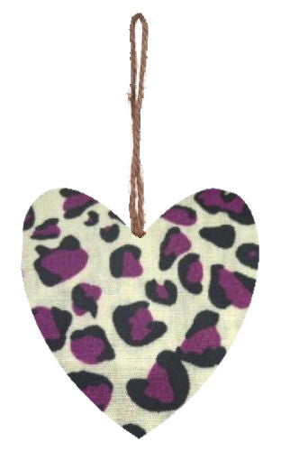 Purple_Animal_Print_Hanging_Heart