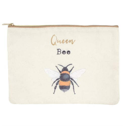 QUEEN BEE MAKEUP POUCH - Miss Pretty London UK Limited