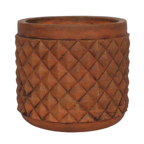 RUSTIC TERRACOTTA PLANT POT - Miss Pretty London UK Limited