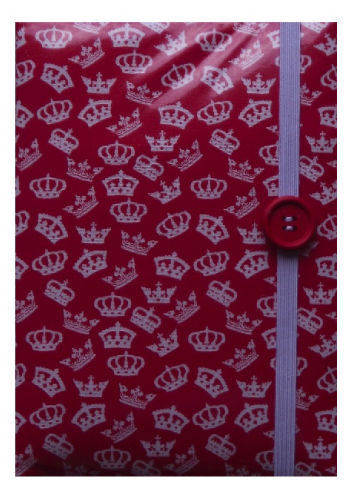 Red British Crowns Print E-Reader Case - Miss Pretty London UK Limited