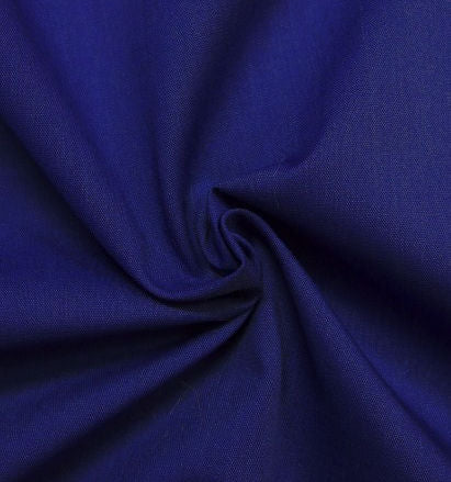 Plain_Royal_Blue_PolyCotton_Fabric