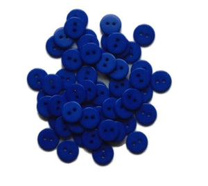 Royal_Blue_Flat_Round_Buttons_-_14mm_-_Pack_of_10