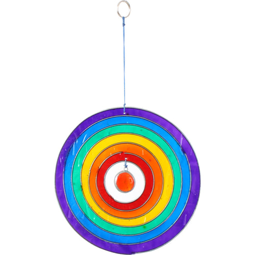 Circle Rainbow Suncatcher