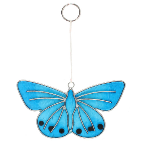 Chalkhill Blue Butterfly Suncatcher - Miss Pretty London UK Limited