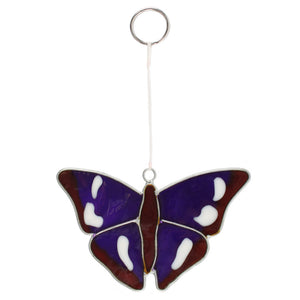 Purple Emperor Butterfly Suncatcher