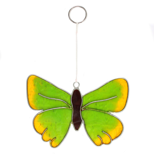Green Hairstreak Butterfly Suncatcher - Miss Pretty London UK Limited