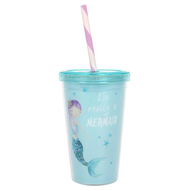 SMALL MERMAID DRINKS CUP