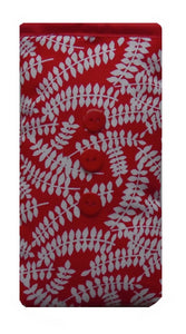 Red Vines Print Mobile Phone Sock