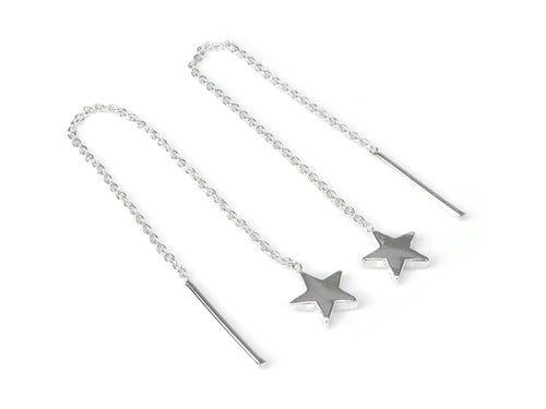 STERLING SILVER STAR THREADERS