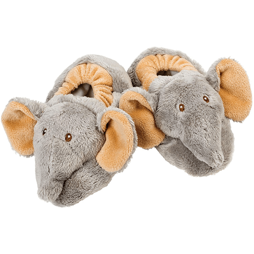 Suki Jungle Baby Elephant Booties