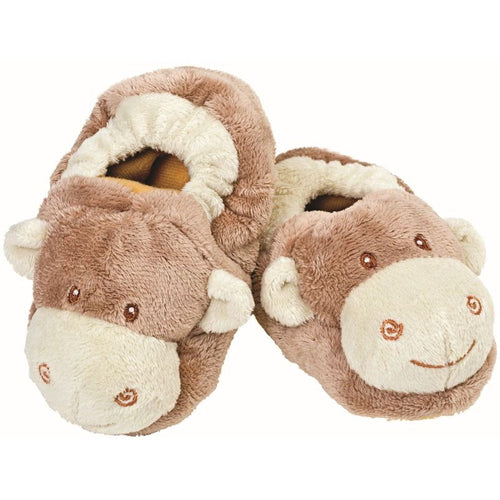 Suki Jungle Baby Monkey Booties
