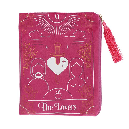 THE LOVERS ZIPPERED BAG - Miss Pretty London UK Limited