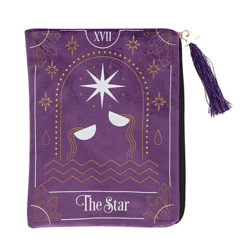 THE STAR ZIPPERED BAG - Miss Pretty London UK Limited