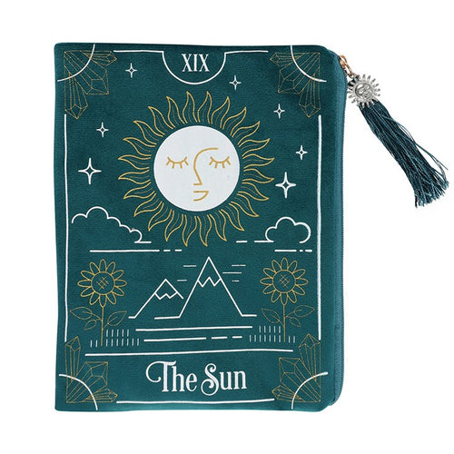 Copy of THE SUN ZIPPERED BAG - Miss Pretty London UK Limited